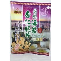 【僅展示無販售】五穀海苔杏仁脆片 40g