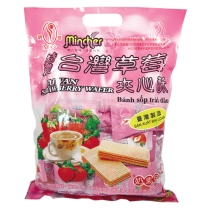 【現貨】明奇特濃草莓夾心酥 400g
