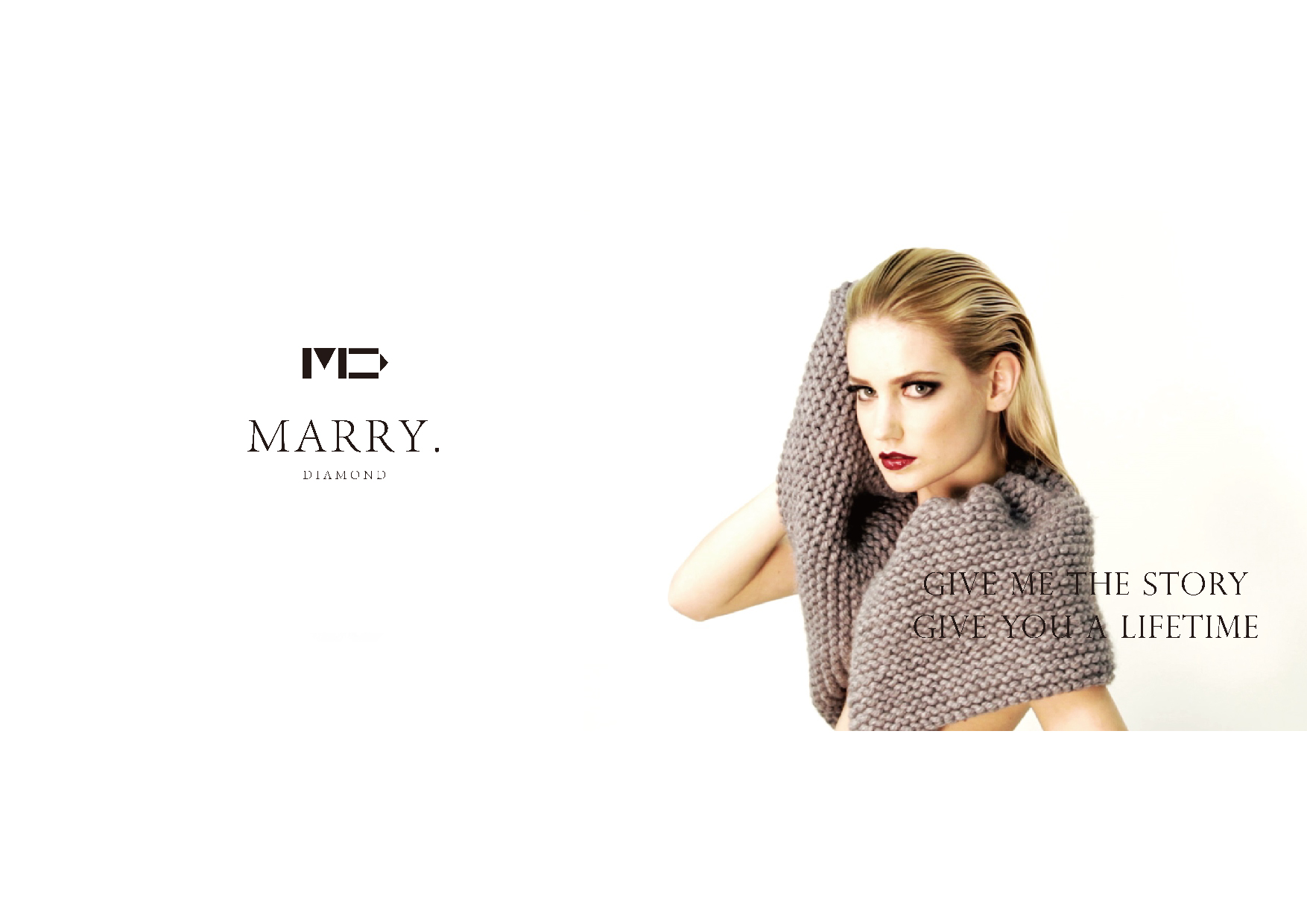 Marry diamond 亞洲首創時尚品味鑽戒