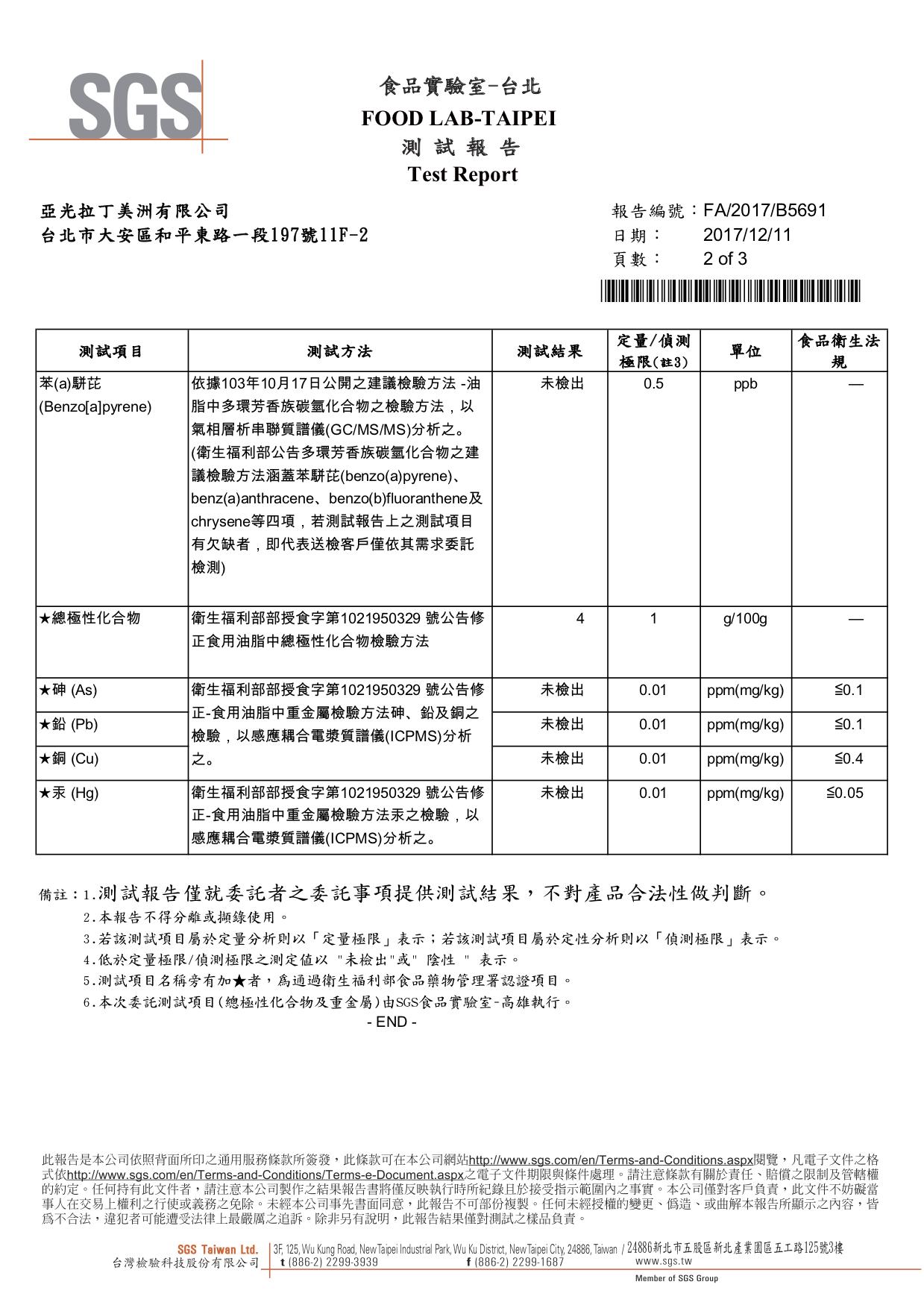 JCI SGS 檢驗報告2